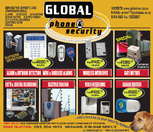 Global Sec Security Equipment and Installations